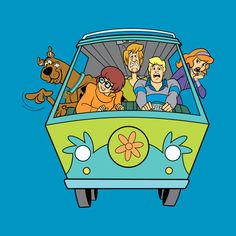 Shop Scooby Doo & The Mystery Machine scooby doo t-shirts designed by popcultured as well as other scooby doo merchandise at TeePublic. Cartoon Wallpaper, Cute Wallpaper Backgrounds, Cute Wallpapers, Classic Cartoon Characters, Classic Cartoons, Cartoon Memes, Cartoon Pics, What's New Scooby Doo, Scooby Doo Tattoo