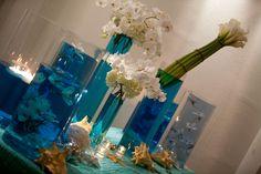 Beach hotel lobby by Kebbie Hollingsworth Floral Design