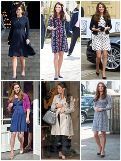 Thrifty Wife, Happy Life: Celeberity Looks- Kate Middleton Maternity looks