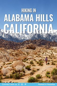 Free camping in Alabama Hills, California Camping With A Baby, Tent Camping, Camping Cabins, 5th Wheel Travel Trailers, Camper Van Conversion Diy, State Forest, Sierra Nevada, Filming Locations, Horseback Riding
