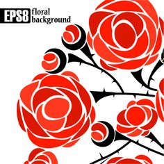 Rose background 05