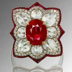 Ruby and diamonds.