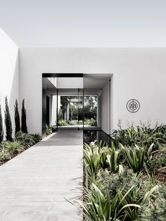 New Zealand Architecture, Residential Architecture, Interior Architecture, Entrance Design, Facade Design, House Design, Salon Interior Design, Interior Ideas, Entry Foyer