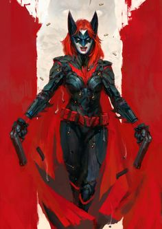 Imaginary Gotham - The art of Batman and his Universe. Batwoman, Batgirl, Nightwing, Supergirl Superman, Dc Comics Art, Comics Girls, Red Hood, Gotham City, Comic Books Art