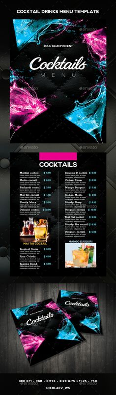 Brown Restaurant Menu Browns restaurant, Restaurant menu - sample drink menu template