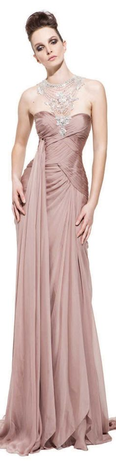 PAVONI Collection - Fall/Winter 2012 #long #dress
