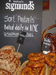 Mmm Sigmund's Pretzels - NY Giants