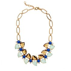 J Crew Butterfly Wing Necklace
