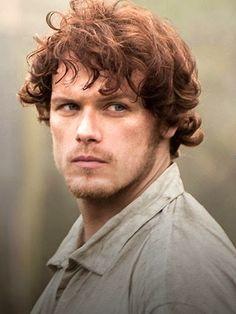 Scottish actor Sam Heughan. He plays Jamie Fraser in Outlander.