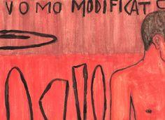MODIFICATO - 2015 (watercolour on paper) #contemporaryart #artecontemporanea #artcontemporain #contemporarypainting #artecontemporaneo #kunst