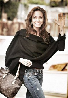 Angelina Jolie!! Fashion idol and inspiration! She is not only beautiful, but also talented and kind.
