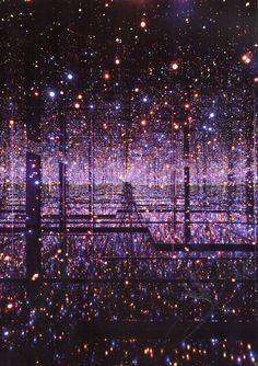 Yayoi Kusama: Infinity Mirror Room, (1965)