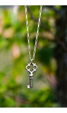 This reminds me of all the random keys I found at my grandma's and wished they were secret keys....