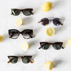 Omoda | Sunglasses 2017 | Flatlay | Lemons