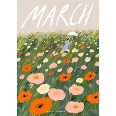 March by Oamul Lu Art And Illustration, Illustrations And Posters, Posca Art, Hello March, Grafik Design, Pattern Art, Cute Art, Art Inspo, Amazing Art