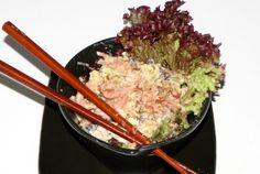 5 or less: Japanse salade met Hollandse garnalen