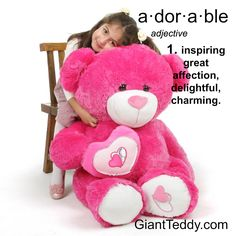 extra large teddy bears for valentines day