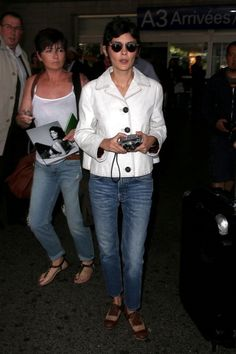 Audrey Tautou is seen arriving in Nice