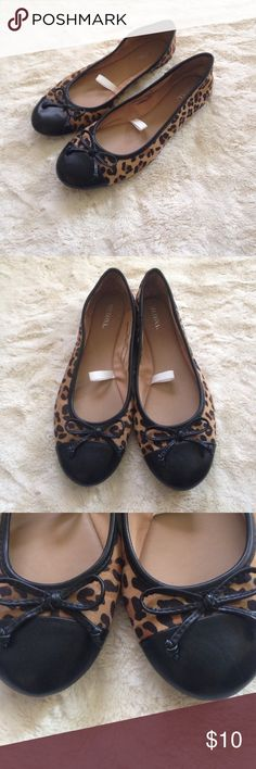 Never worn size 8 leopard flats! Merona size 8 leopard flats - new without tags! Never worn! Merona Shoes Flats & Loafers