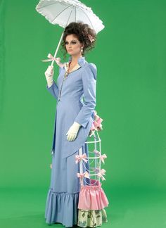 M7140 | McCall's Patterns bustle cage pattern