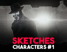 """Check out new work on my @Behance portfolio: """"Sketches. Characters #1"""" http://be.net/gallery/50224389/Sketches-Characters-1"""