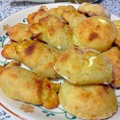 Cornetti e bombette di patate