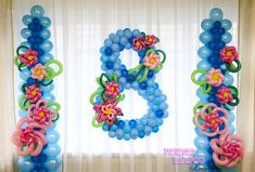 Birthday Balloon Decorations, Balloon Arrangements, Balloon Columns, Baby Shower, Wreaths, Wedding, Design, Home Decor, Balloon Designs