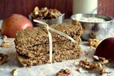 Παιδικές μπάρες μήλου Krispie Treats, Rice Krispies, Greek Recipes, Dessert Recipes, Desserts, Banana Bread, Cereal, Breakfast, Postres