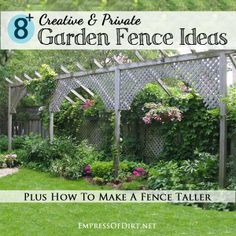 How To Make A Fence Taller