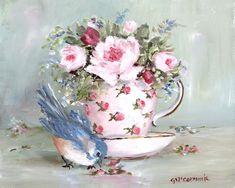 Gail McCormack — BirdinTea Cup  (760x608)
