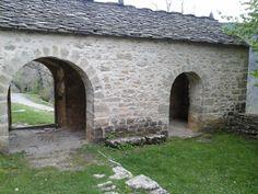 Asín de Broto (Huesca) arcos - hecha en 2015, por Carmen hb
