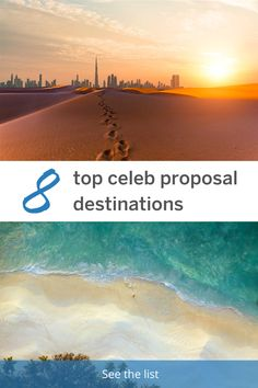 Lonely Planet counts down eight of the most iconic destinations where celebrities have popped the question. Romantic Getaways, Romantic Travel, Best Honeymoon Destinations, Travel Destinations, Engagement Celebration, Lonely Planet, Perfect Place, Proposal, Destination Wedding
