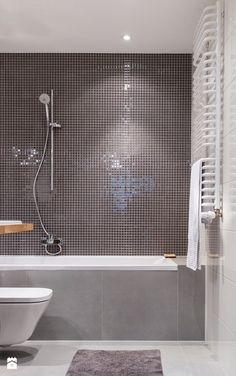 Szara mozaika - zdjęcie od SPOIWO studio - Łazienka - Styl Skandynawski - SPOIWO studio