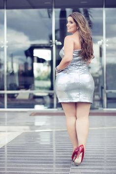Mayara Beraldo Big curvy plus size women are beautiful! Curvy Plus Size, Plus Size Model, Real Women Curves, Plus Size Beauty, Beautiful Curves, Nice Curves, Simply Beautiful, Prom Party Dresses, Swagg