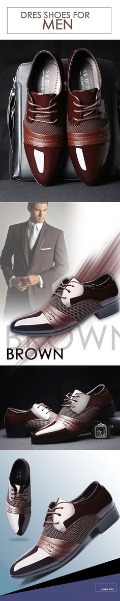 Men's Brown Oxford classic leather shoes --- Men's top brand fashion style business casual affordable attire apparel - Tap the link to shop on our official online store! You can also join our affiliate and/or rewards programs for FREE! Great Mens Fashion, Latest Mens Fashion, Mens Fashion Shoes, Leather Fashion, Men's Fashion, Fashion Outfits, Smart Casual Men, Business Casual Men, Stylish Men