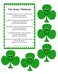 Patrick's Day Primary Printables {Free} You are in the right place about my ideas bullet journal Here we offer you the most beautiful … St Patricks Day Songs, St Patricks Day Crafts For Kids, St. Patricks Day, Saint Patricks, Preschool Songs, Preschool Crafts, Preschool Activities, Elderly Activities, Dementia Activities