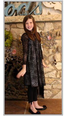 Tweens love this trendy lacy look - Rockin Robin loves tweens!