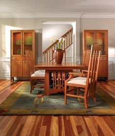 Stickley Mission Dining Collection Get The Latest Furniture Designs At Heritage House Home