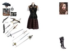 """""""England's Pirate!Daughter"""" by mercy-kyle ❤ liked on Polyvore featuring Ellie, Bling Jewelry and Columbia"""