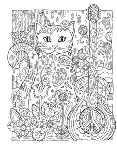 bol.com | Creative Haven Creative Cats Coloring Book, Marjorie Sarnat | 9780486789644...