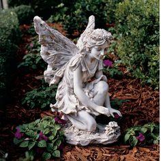 Design Toscano Fiona The Flower Fairy Statue & Reviews   Wayfair
