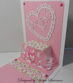 Valentine Pop-up Card by Selma - Cards and Paper Crafts at Splitcoaststampers