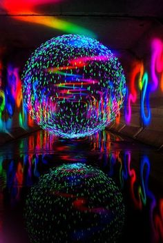 rainbow ball of colors