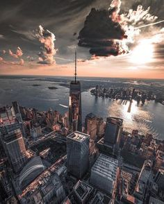 World Trade Center by @pictures_of_newyork | newyork newyorkcity newyorkcityfeelings nyc brooklyn queens the bronx staten island manhattan