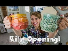 Another Great Kiln Opening! Mugs, Vases and Casserole Dishes! Recipes with casserole dishes – The Most Practical and Easy Recipes Pottery Tools, Pottery Classes, Crazy Cat Lady, Crazy Cats, Spearmint Recipes, Pottery Videos, Ceramic Artists, Make And Sell, Casserole Dishes