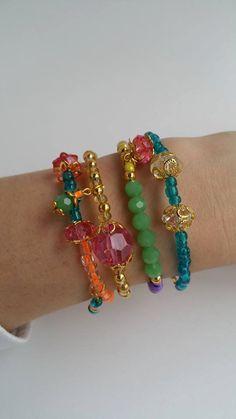 Boho chic bracelet set - simple jewelry - friendship bracelet - summer jewelry…