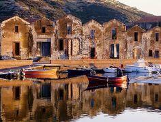 Bosa/Sardinien - so sahen die Concerie im Jahr 2000 aus