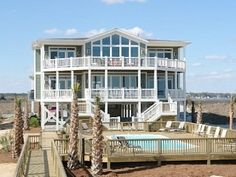 This beautiful new construction is located along North Carolina's pristine coastline. Holden Beach is nationally recognized as one of America's premier family beaches and is home to Ocean Spray. This amazing ...