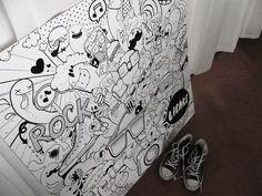 Doodles by Lienke Raben, via Behance
