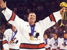 Martin Brodeur winning the Gold (2002)